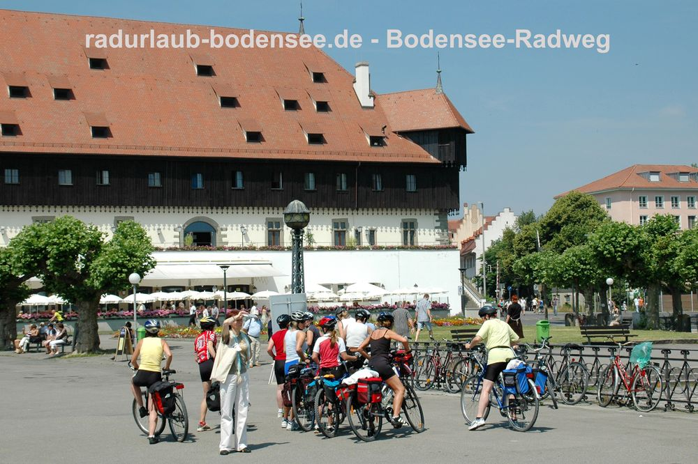 Radurlaub Bodensee - Bodensee-Radweg in Konstanz
