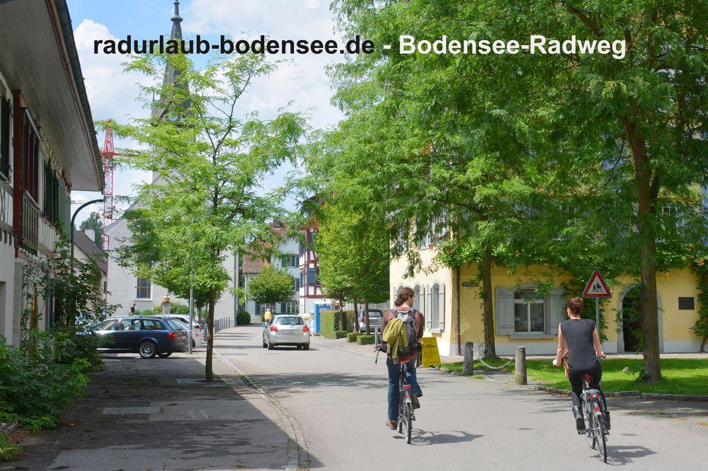Radurlaub Bodensee - Bodenseeradweg in Gottlieben