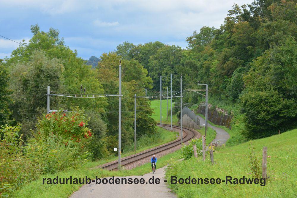 Radurlaub Bodensee - Bodensee-Radweg am Untersee
