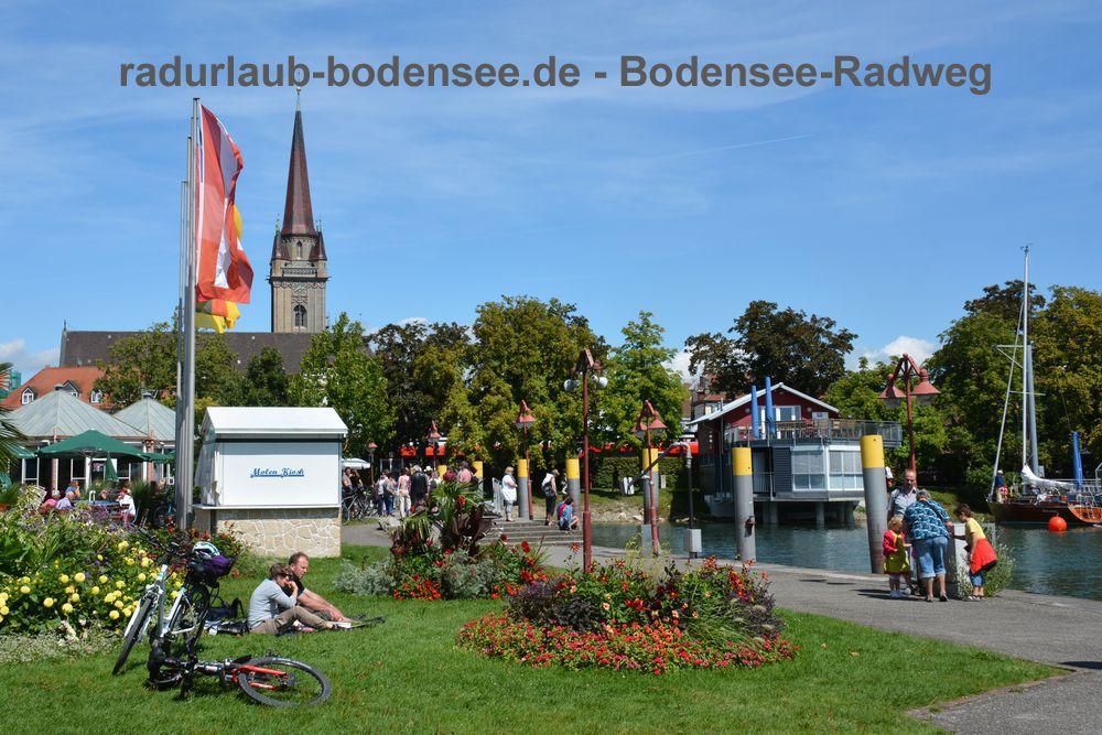 Radurlaub Bodensee - Bodenseeradweg in Radolfzell