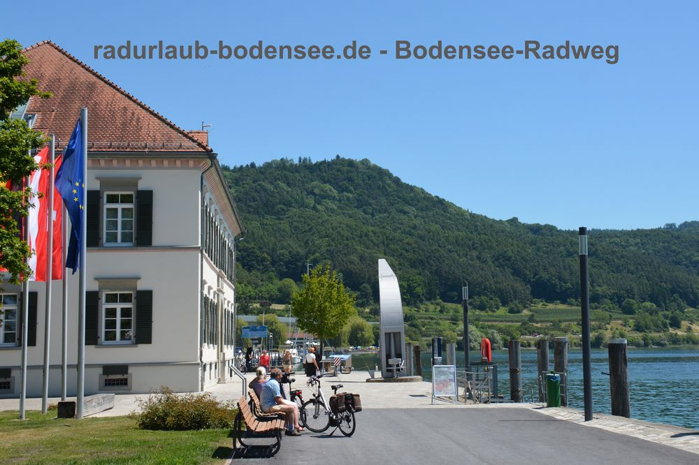 Radurlaub Bodensee - Bodensee-Radweg in Ludwigshafen