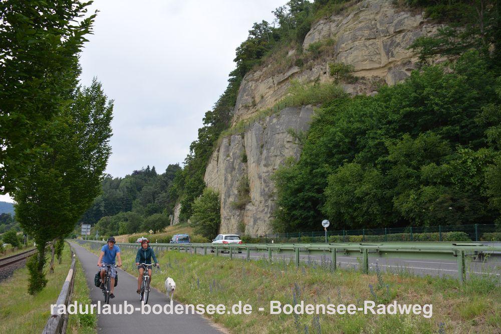 Radurlaub Bodensee - Bodenseeradweg bei Goldbach