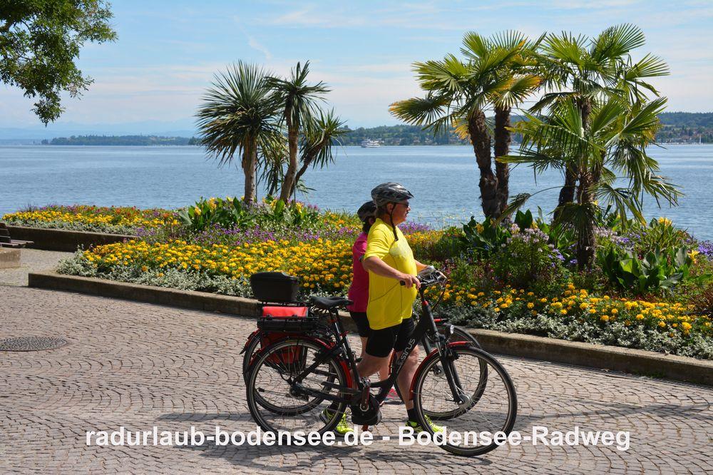 Radurlaub Bodensee - Bodensee-Radweg in Überlingen