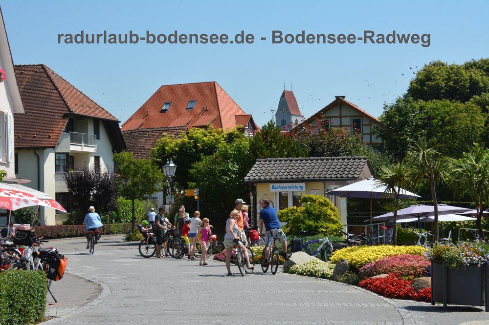 Radurlaub Bodensee - Bodensee-Radweg in Hagnau