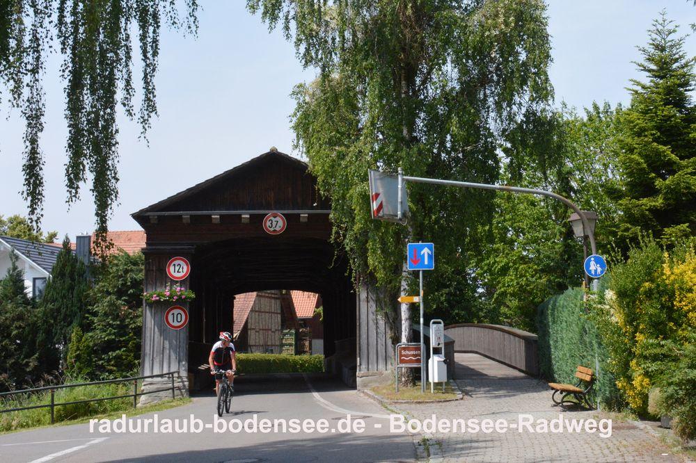 Radurlaub Bodensee - Bodensee-Radweg in Eriskirch