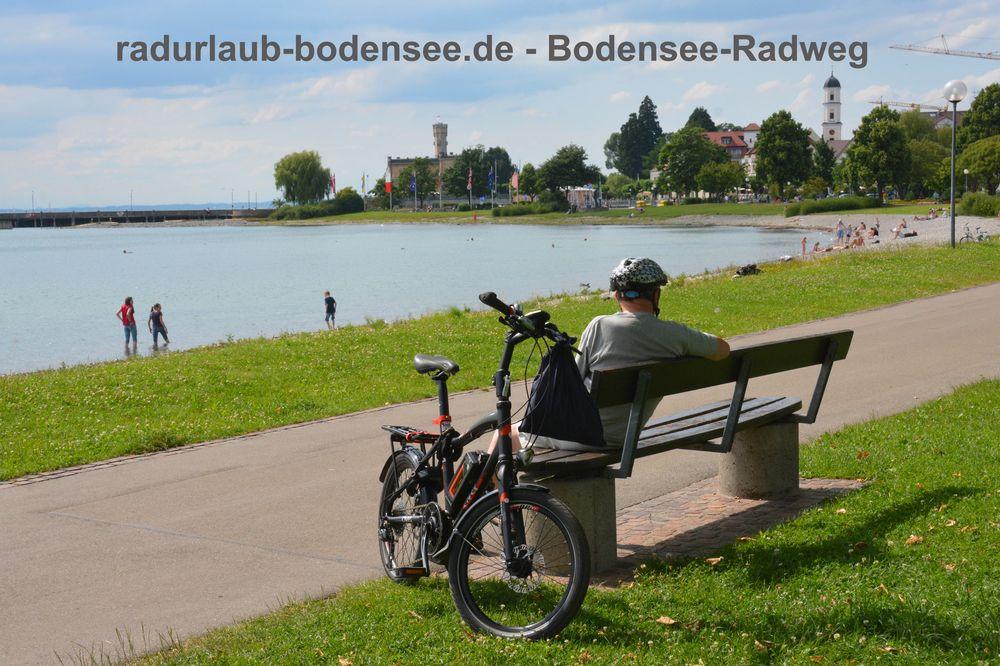 Radurlaub Bodensee - Bodenseeradweg in Langenargen