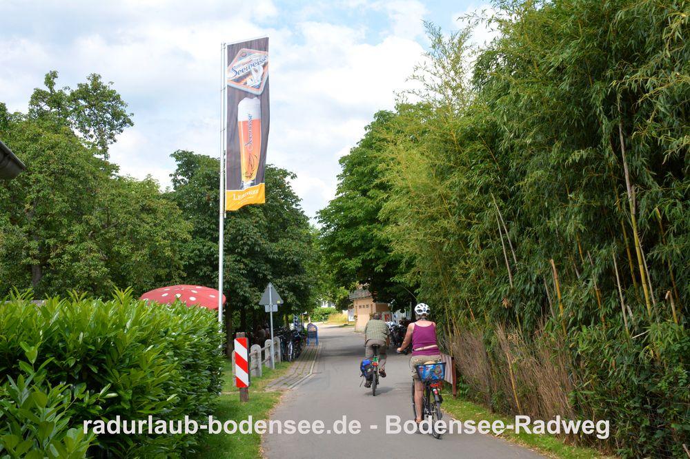 Radurlaub Bodensee - Bodensee-Radweg in Tunau
