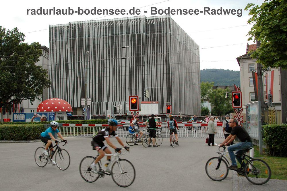 Radurlaub Bodensee - Bodensee-Radweg in Bregenz