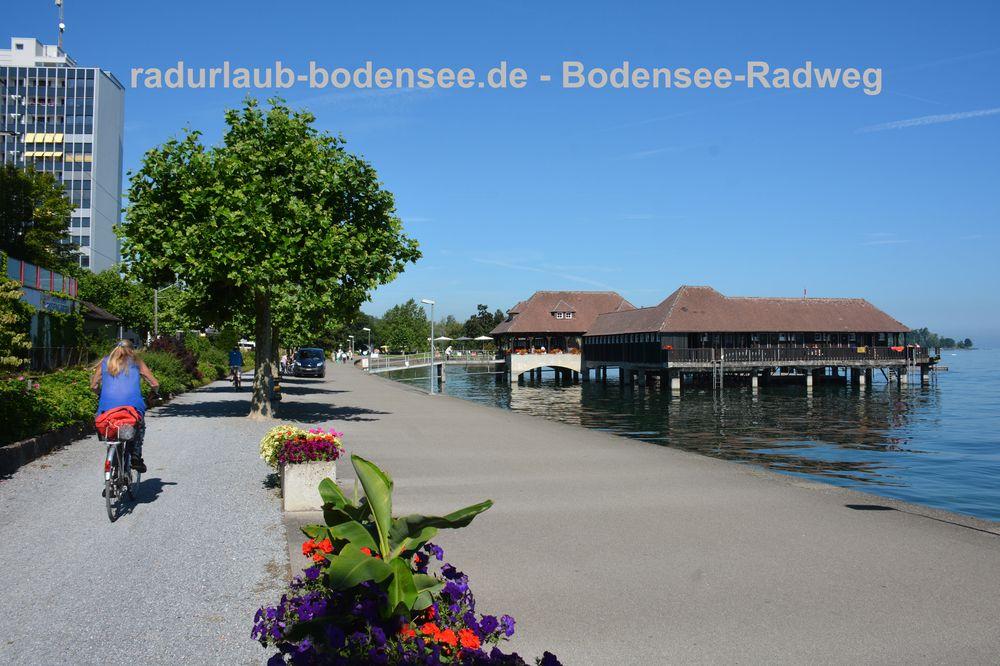 Radurlaub Bodensee - Bodensee-Radweg in Rorschach
