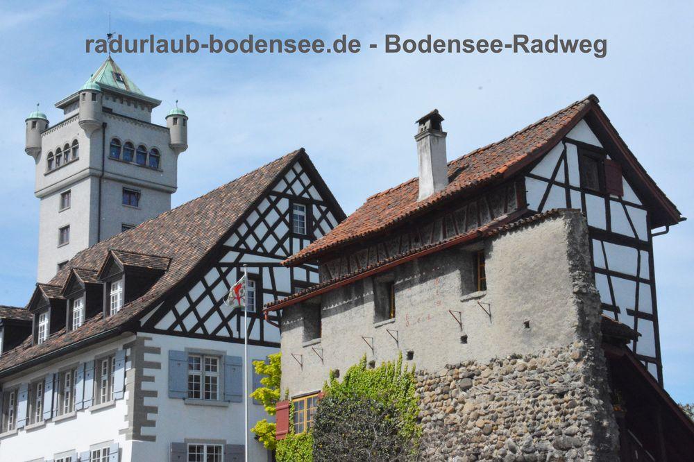 Radurlaub Bodensee - Bodensee-Radweg in Arbon