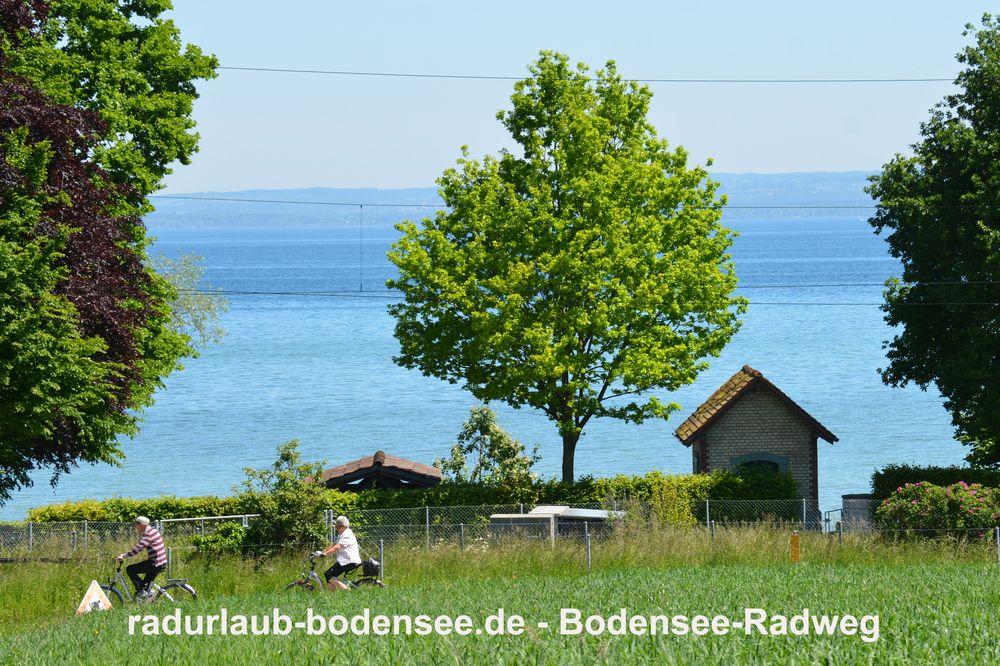 Radurlaub Bodensee - Bodenseeradweg in Frasnacht
