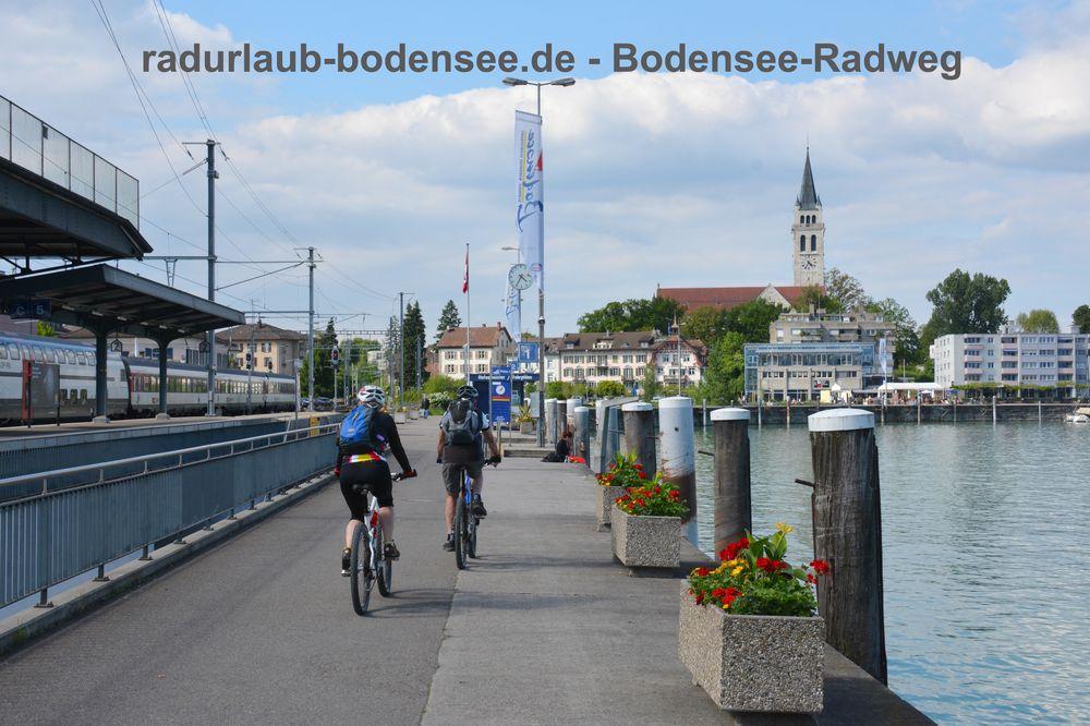 Radurlaub Bodensee - Bodensee-Radweg in Romanshorn