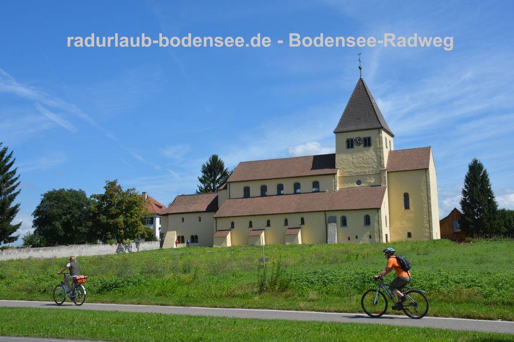 Radurlaub Bodensee - Bodensee-Radweg auf der Reichenau
