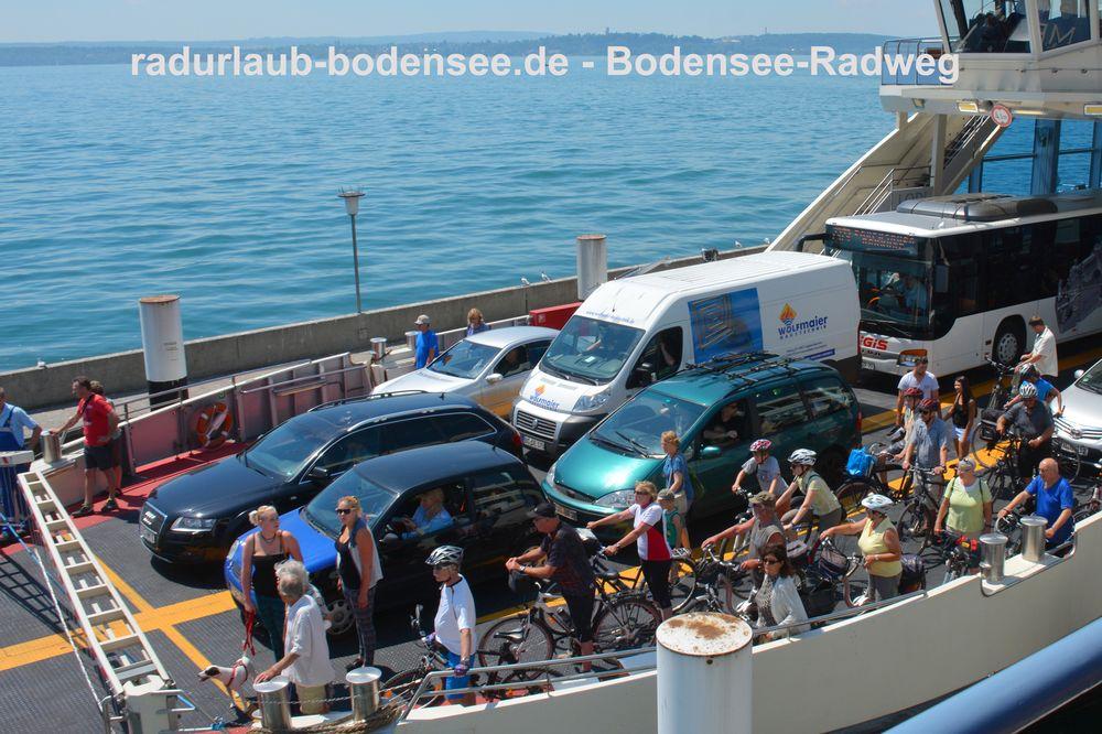 Bodensee-Radweg - Schifffahrt