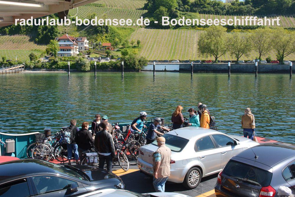 Bodenseeschifffahrt - Autofähre Konstanz-Meersburg