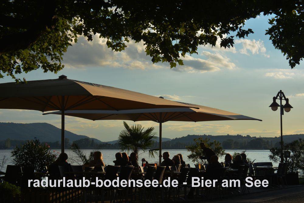 Radurlaub am Bodensee - Bier am Bodensee