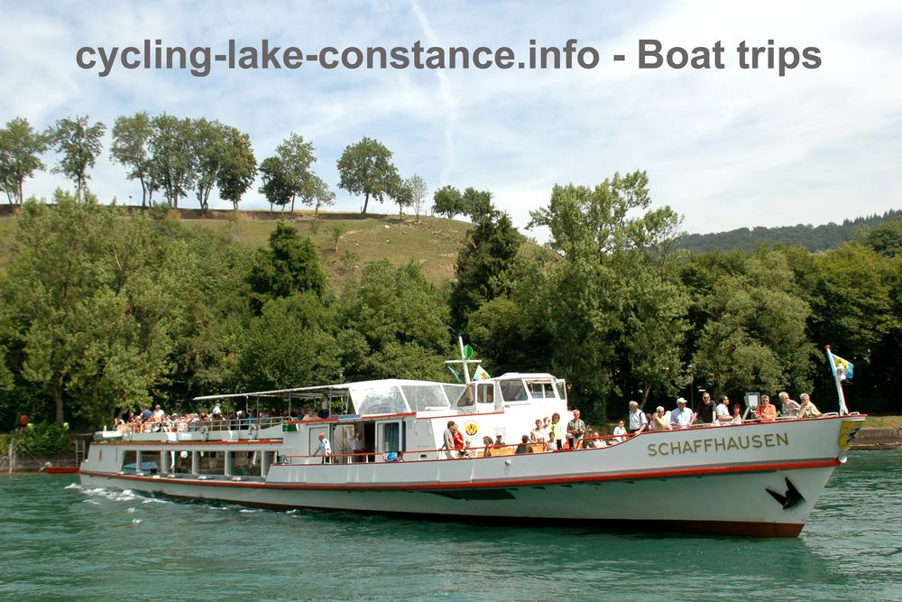 Boat trip on Lake Constance - MS Schaffhausen