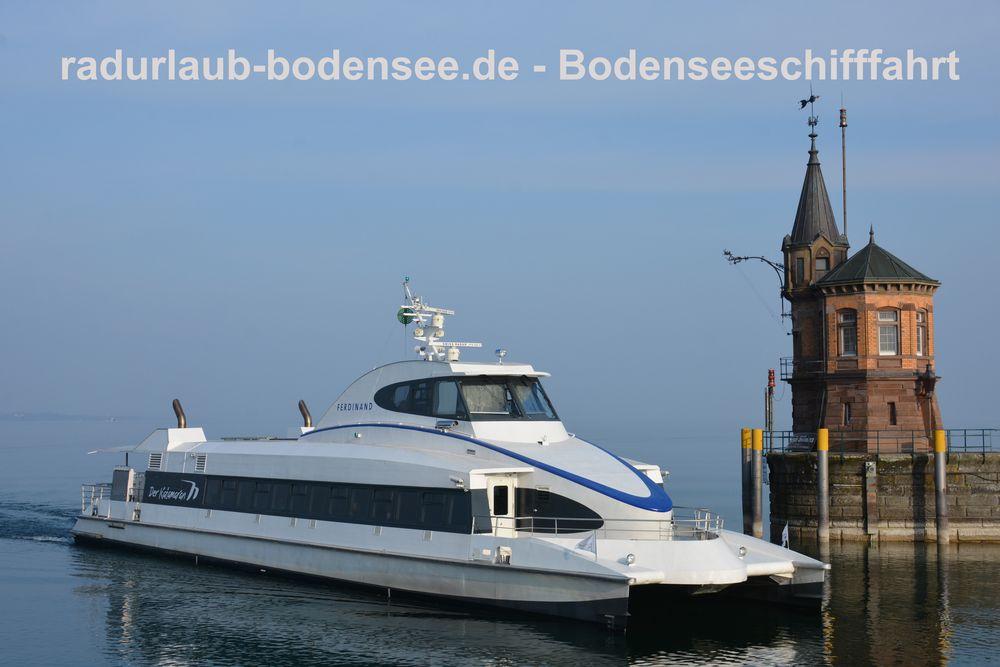 Bodenseeschifffahrt - Katamaran MF Ferdinand
