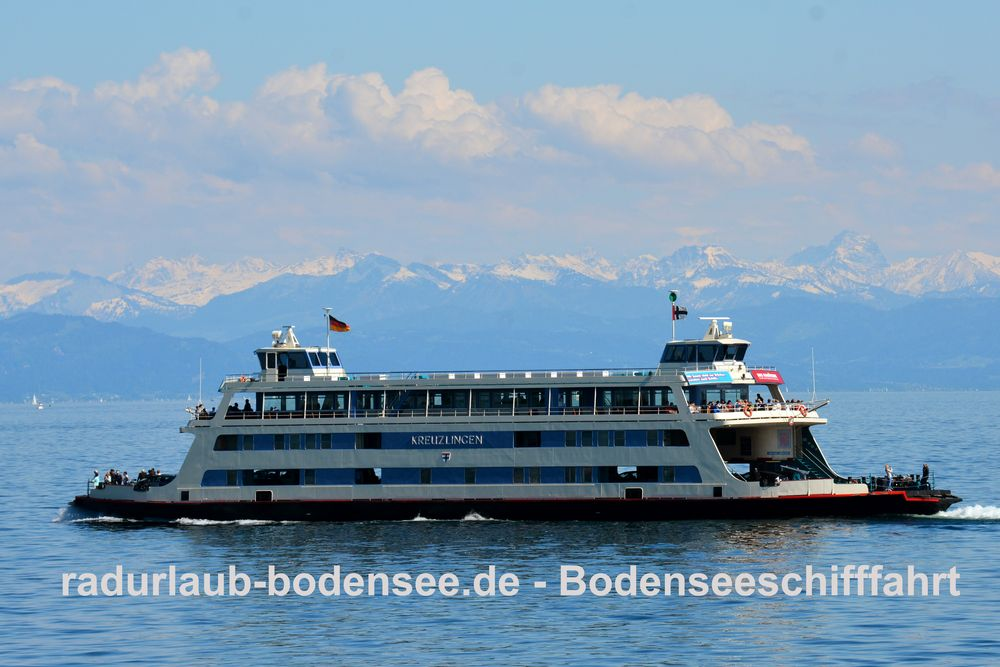 Bodenseeschifffahrt - MF Kreuzlingen