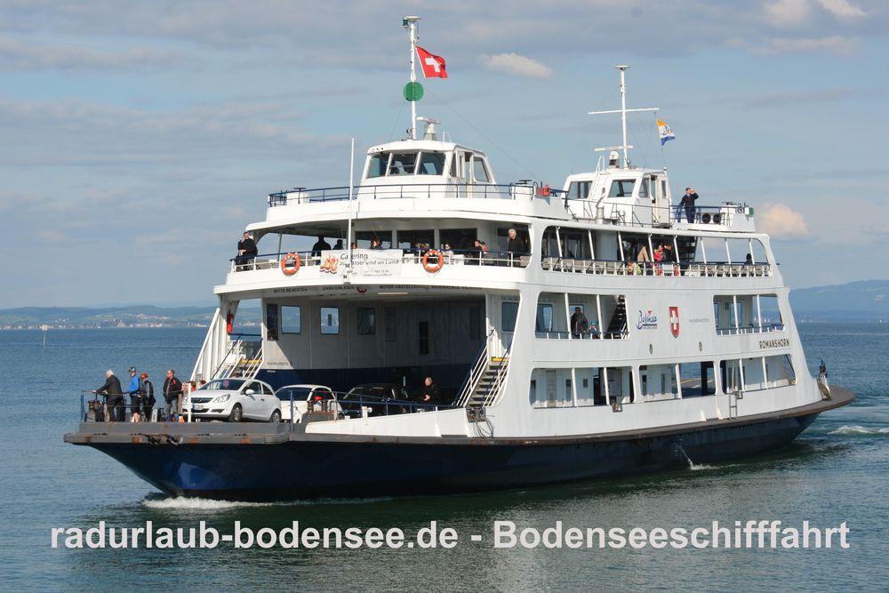 Bodenseeschifffahrt - MF Romanshorn - Fähre Friedrichshafen-Romanshorn