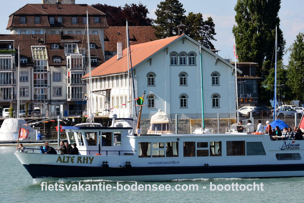 Boottocht langs de Bodensee - MS Alte Rhy