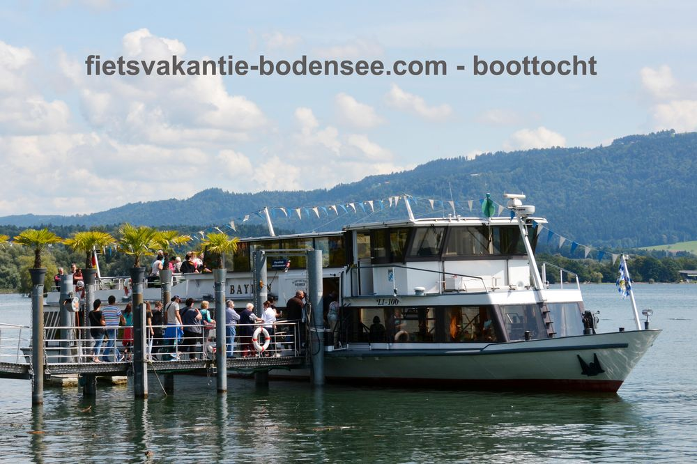Boottocht langs de Bodensee - MS Bayern