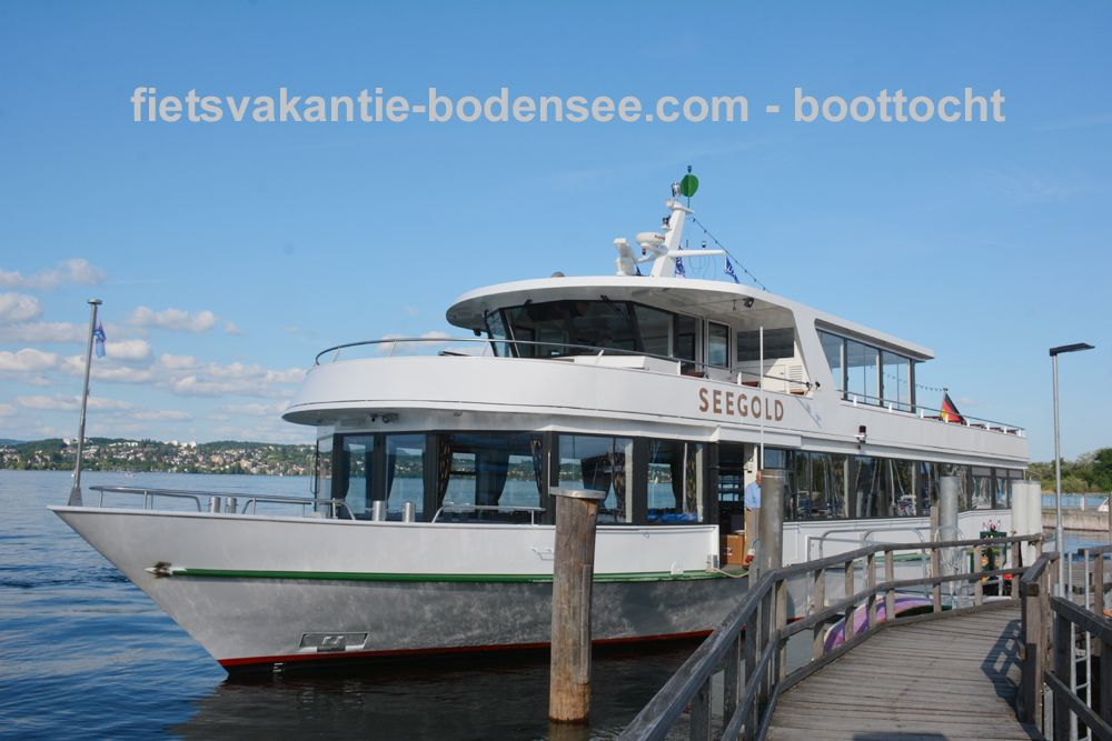 Boottocht langs de Bodensee - MS Seegold