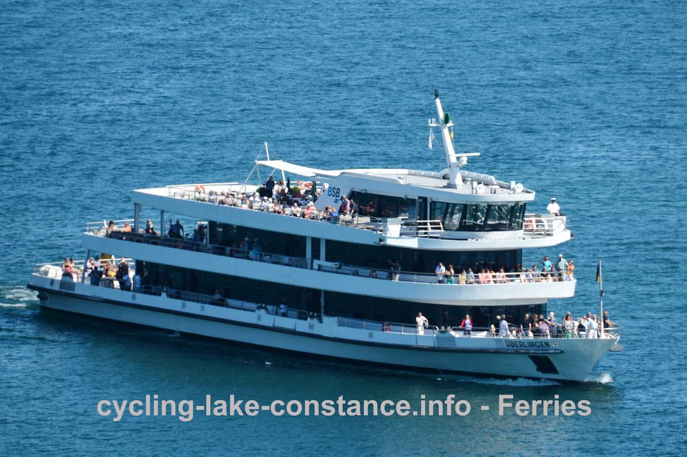 Ferries on Lake Constance - MS Überlingen