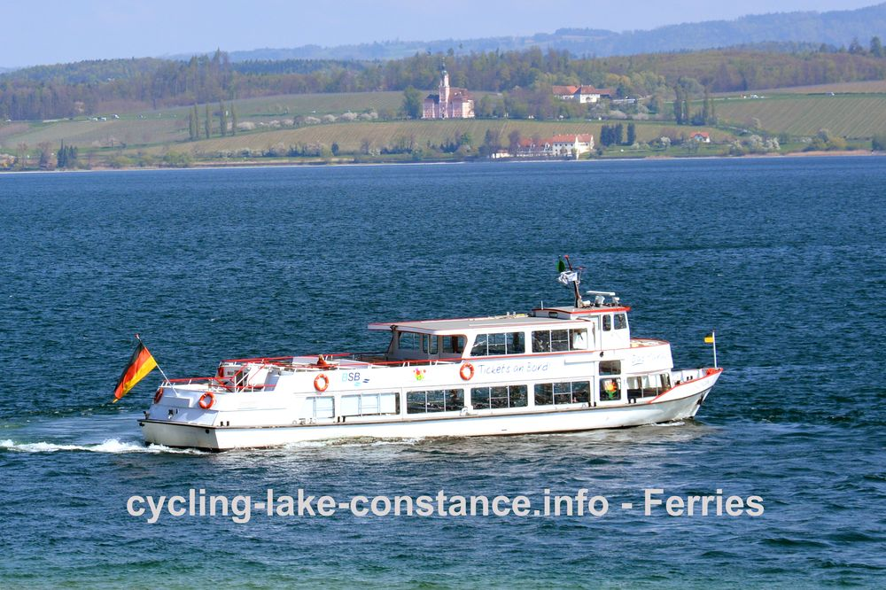 Ferries on Lake Constance - MS Uhldingen