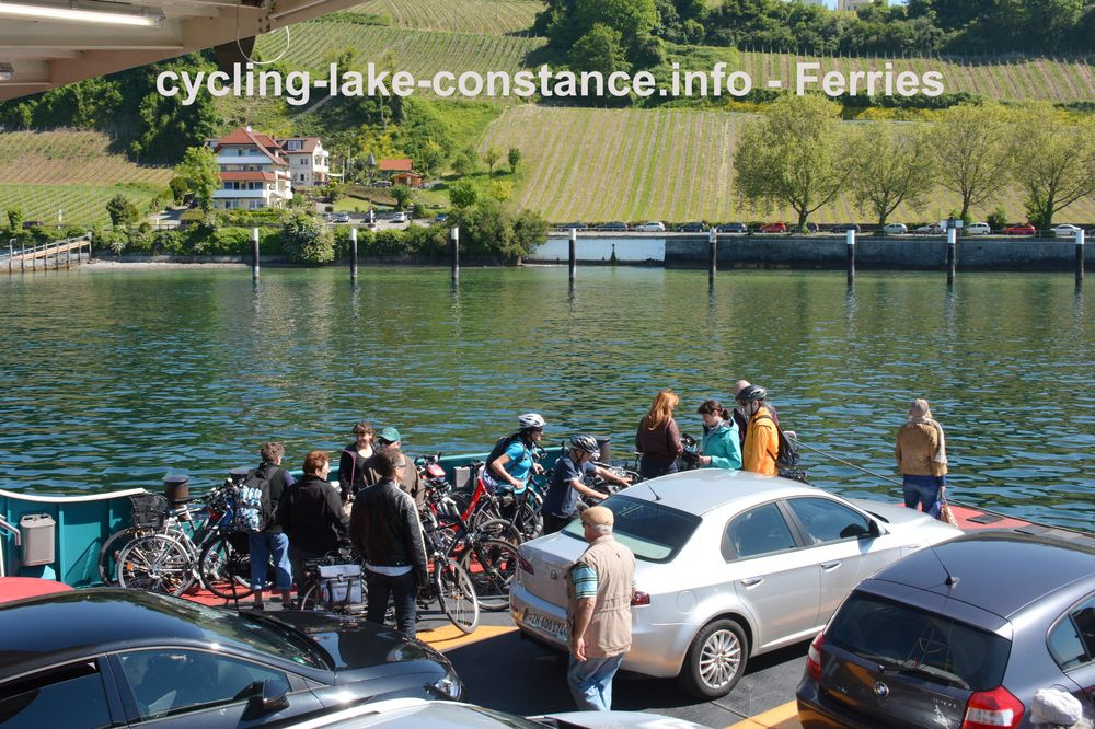 Ferries on Lake Constance - Ferry Constance-Meersburg