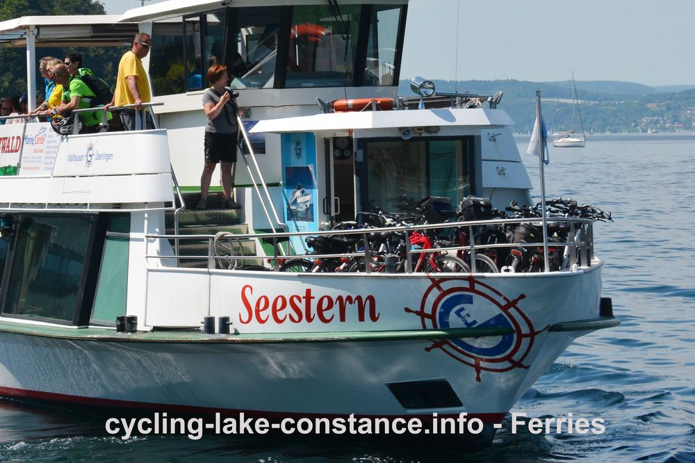 Ferries on Lake Constance - MS Seestern