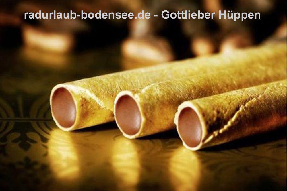 Schokolade am Bodensee - Gottlieber Hüppen
