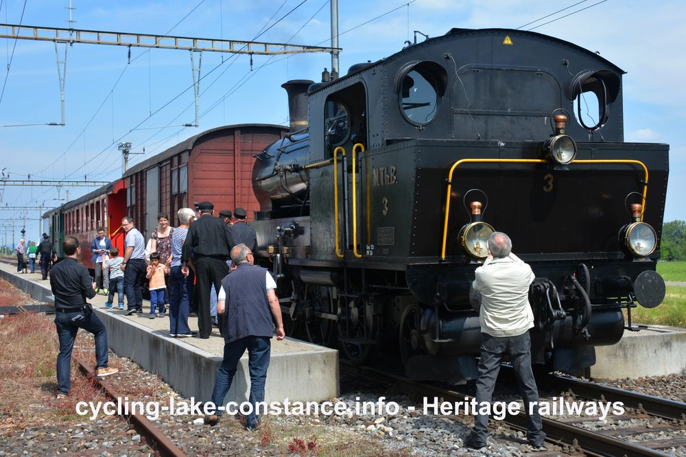 Heritage railways at Lake Constance - Mostindien-Express