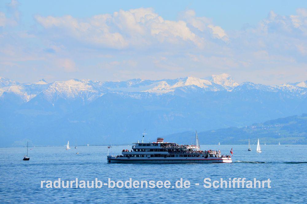 Schifffahrt am Bodensee - MS Austria