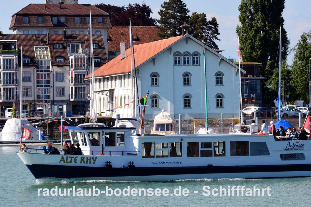 Schifffahrt am Bodensee - MS Alte Rhy