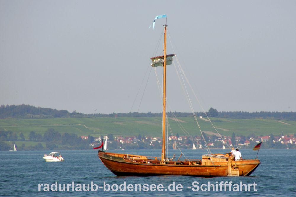 Schifffahrt am Bodensee - Lädine