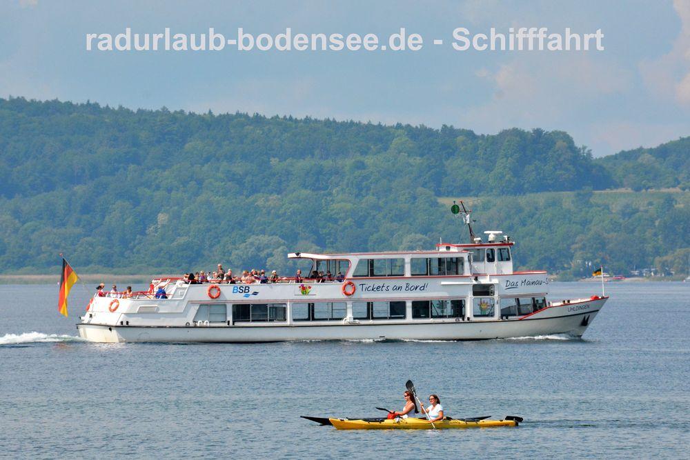 Schifffahrt am Bodensee - MS Uhldingen