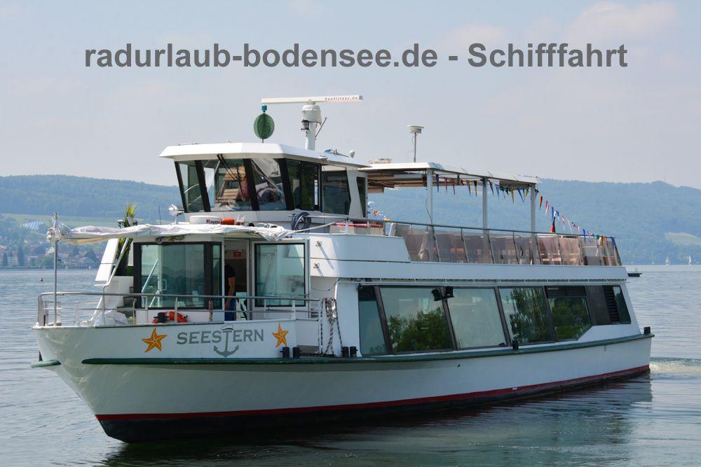 Schifffahrt am Bodensee - MS Seestern