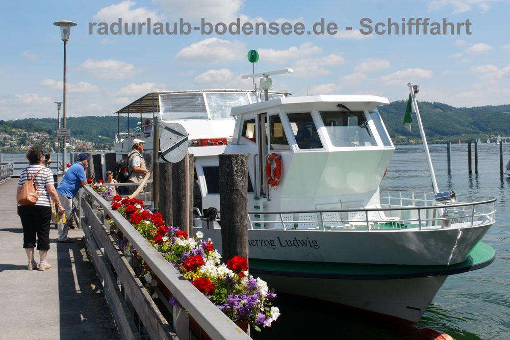 Schifffahrt am Bodensee - MS Großherzog Ludwig