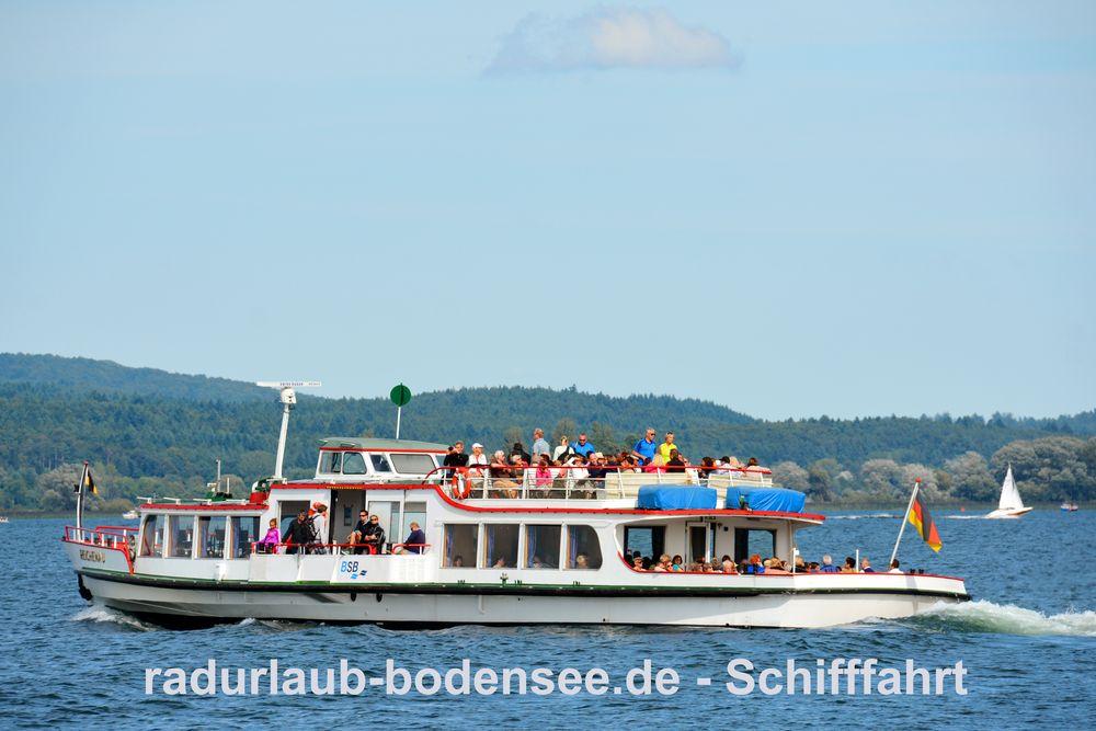 Schifffahrt am Bodensee - MS Reichenau