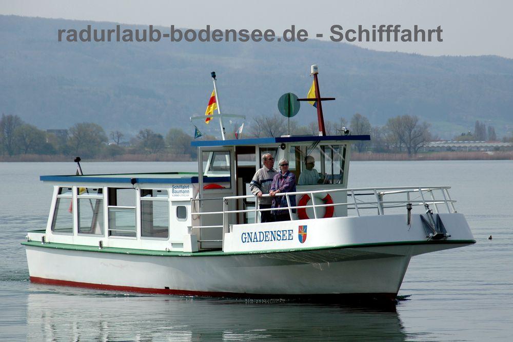 Schifffahrt am Bodensee - MS Gnadensee