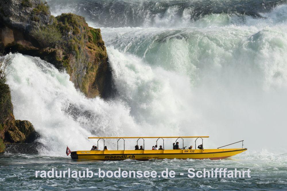 Schifffahrt am Bodensee - Ausflugsboote von Rhyfall-Mändli