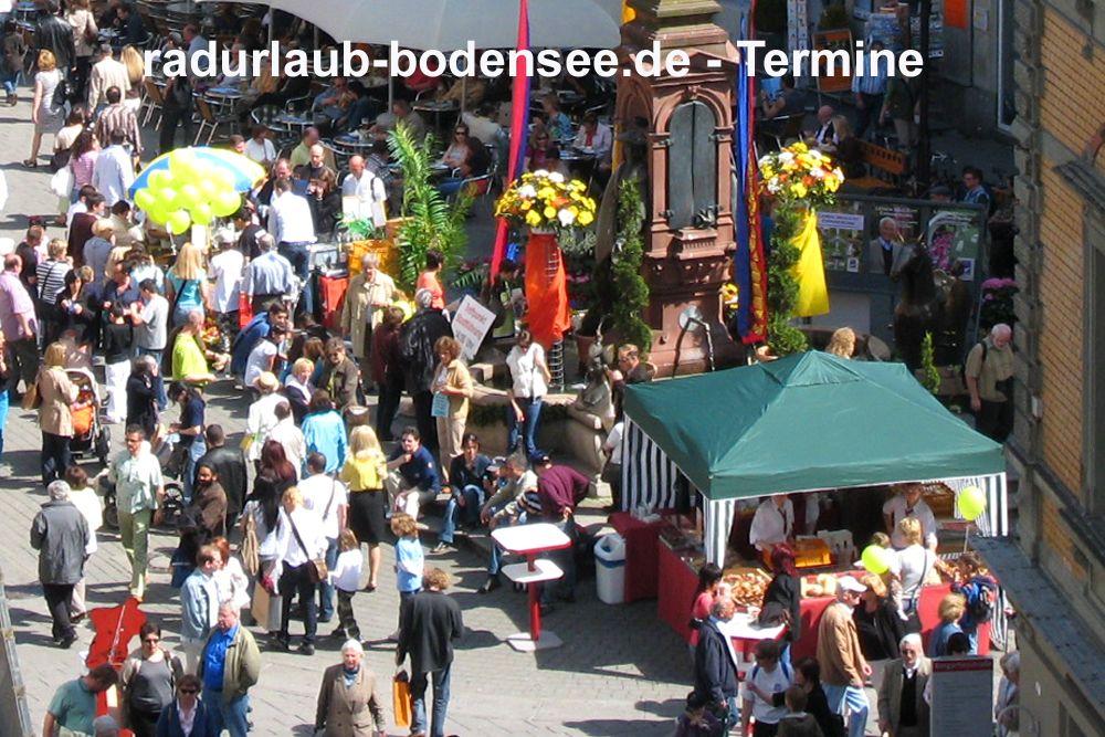 Termine und Feste am Bodensee - Konstanz