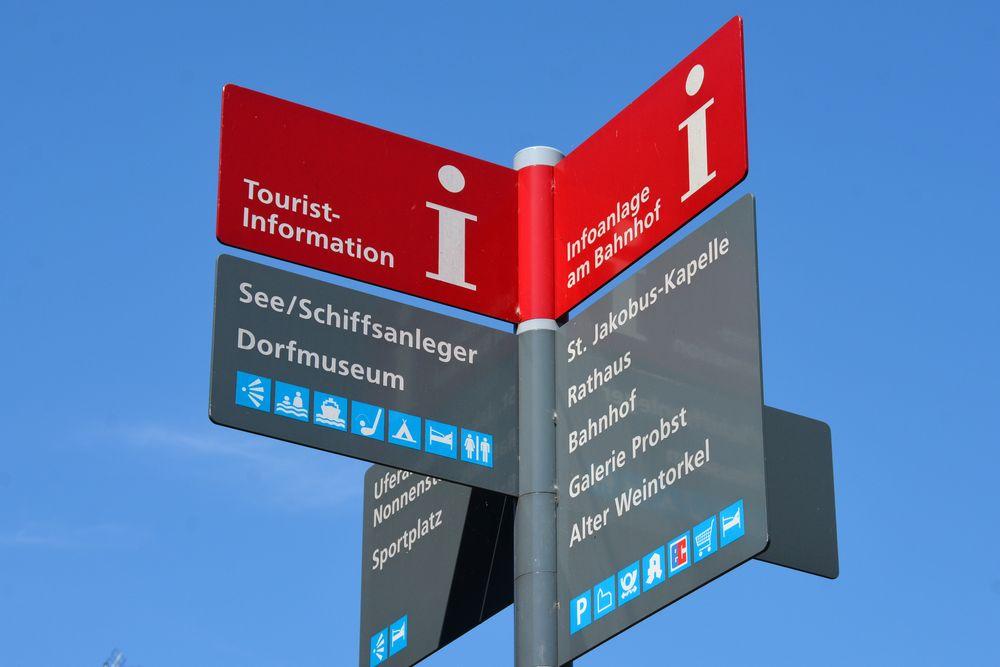 Radurlaub am Bodensee - Tourist-Info´s am Bodensee
