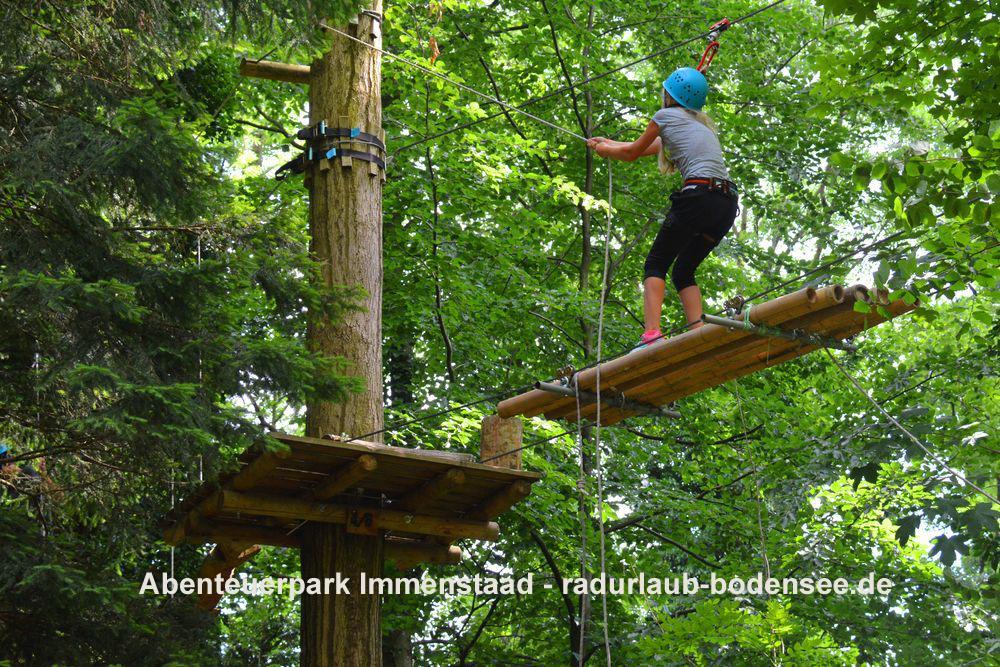 Radurlaub am Bodensee - Abenteuerpark Immenstaad