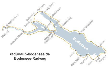 Lago Di Costanza Germania Cartina.Percorso Ciclabile Lago Di Costanza