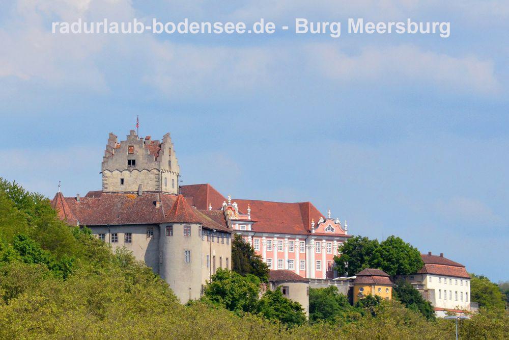 Radurlaub am Bodensee - Burg Meersburg