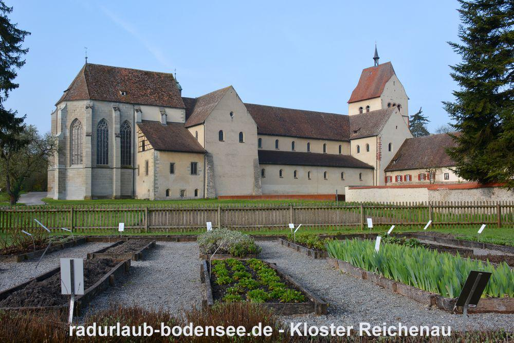 Cycling Lake Constance - The Abbey of Reichenau