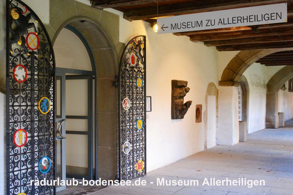 Radurlaub am Bodensee - Museum Kloster Allerheiligen Schaffhausen