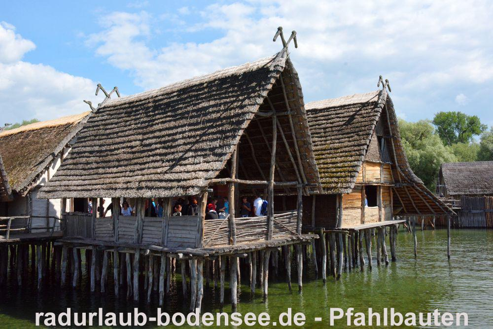 Cycling Lake Constance - Unteruhldingen Lake Dwelling Museum